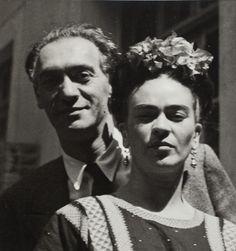 Nickolas Muray and Frida Kahlo, 1939