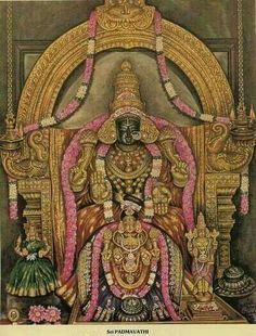 Have darshan of Goddess Padmavathi on this Friday and be blessed.  Tiruchanur is in Chittore district of Andhra Pradesh. She is believed to be the incarnation of Bhoodevi/Mahalakshmi. She is the divine consort of Lord Venkateshwar. She is believed to be emerged from a  lotus pond(Padma Sarovaram) and brought up by Akasharaja, ruler of this area. She is locally known as Alamelu Manga Thayar.  This year Devi's Kartik Brahmotsavam is from 08.12.2015 to 16.12.2015.