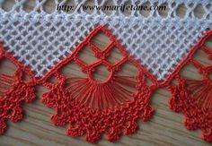 This is an interesting and nice stitch pattern: the Chevron Retro Stitch Wave Crochet pattern which I'm sure you guys would like to know how it is done. This lace chevron stitch is easy to make and is perfect for shawls and blankets. Crochet Borders, Crochet Stitches Patterns, Thread Crochet, Crochet Trim, Filet Crochet, Crochet Designs, Stitch Patterns, Knit Crochet, Double Crochet