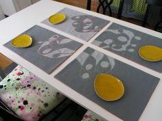 to reverse applique, Brett Bara- found on design sponge http://www.designsponge.com