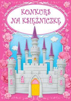 """Książka """"Konkurs na Księżniczkę"""" - Dziecko bohaterem bajki. http://szukamprezentu.pl/ksiazka-konkurs-na-ksiezniczke.html"""