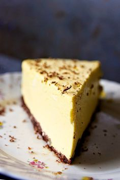 Cheesecake Recipes, Pie Recipes, Baking Recipes, Recipies, Sweet Bakery, Sugar Free Recipes, Mellow Yellow, Healthy Baking, Diy Food
