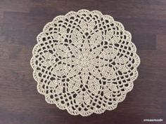 Leaf Doily – Free Crochet Patterns ATELIER *mati*
