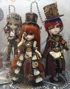Steampunk Eclipse Dolls on Display via Groove Official site