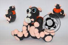Agnieszka Mężyk, Szydełkowe Stwory, nosorożec www.polandhandmade.pl #polandhandmade #crochet #amigurumi