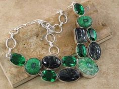 Multi Gemstone Necklace : Druzy, Jasper, Quartz  http://jewelrygemstone.ecrater.com/p/15263122/multi-gemstone-necklace-druzy-jasper#