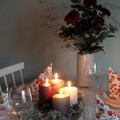 DIY hemmottelulahjoja - Pilviraitti - sisustusblogi Birthday Candles, Table Decorations, Diy, Furniture, Home Decor, Decoration Home, Bricolage, Room Decor, Do It Yourself