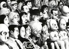 A grotesca obra de Suehiro Maruo