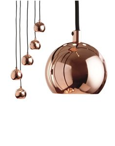 Austin Cluster Ceiling Pendant, in Copper. Keep on top of the Metallic Trend with this copper pendant. £79. MADE.COM