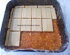 Prajitura cu biscuiti, mere si crema de vanilie - Bunătăți din bucătăria Gicuței Biscuit, Bread, Cooking, Food, Cookie Favors, Baking Center, Cookie, Koken, Biscuits