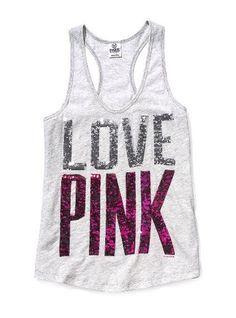 LOVE PINK Tank Top <3<3