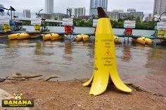 Austin Wet Floor Signs, Banana, Flooring, Austin Texas, Products, Bananas, Wood Flooring, Fanny Pack, Gadget