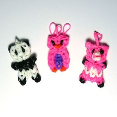 Loom Band Animals Loom Band Animals, Loom Bands, Turtle, Cute Animals, Craft Ideas, Christmas Ornaments, Holiday Decor, Crafts, Rubber Bands