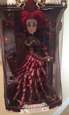 Disney Limited Edition Doll Iracebeth The Red Queen NEW Limited Qty RARE