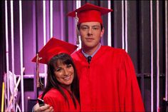 "Rachel and Finn Graduate in the Glee Season 3 Finale, Episode 22: ""Goodbye"""