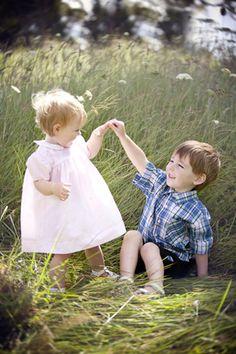Family Portraits, Cute Children!  Flowers  Jodie C Photography