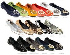 Tory Burch flats flats flats flats flats....I will take one of each! Please!