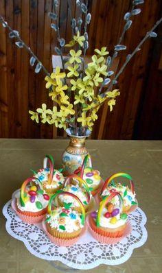 Farebné cupcakes - košíčky - obrázok 3