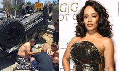Melyssa Ford Nearly Dies On Ventura Freeway in L. Suffers Fractured Skull while Driver Still At Large. Melyssa Ford, Be Still, Hip Hop, Skull, Hiphop, Skulls, Sugar Skull