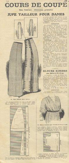 1911 Parisian La Mode pages