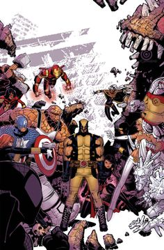 Wolverine and The X-Men #9 by Chris Bachalo [Avengers vs The X-Men]
