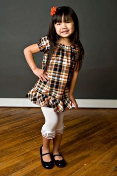 Perfect Peasant Dress PATTERN TUTORIAL EBOOK - Busy Gal Basics Collection by Dreamspun Girls 2t 3t 4t 5t 6 7 8 10 12. $8.50, via Etsy.