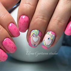 The Best Nail Art Designs – Your Beautiful Nails Diy Unicorn, Unicorn Nail Art, Cute Nails, Pretty Nails, My Nails, Best Nail Art Designs, Simple Nail Designs, Unicorn Nails Designs, Art Simple