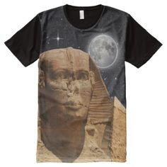 Shop Egyptian sphinx t-shirts created by Christian_Clothing. Personalize it with photos & text or purchase as is! Stylish Shirts, Christian Clothing, S Shirt, Egyptian, Print Design, Diy Design, Custom Shirts, Mens Tops, How To Wear