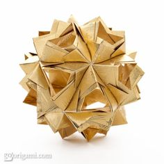 Little Island Kusudama - Origami Diagram