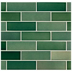 green subway tiles