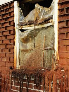 Alex Chinneck Builds Melting Brick House for London's Merge Festival | Hi-Fructose Magazine