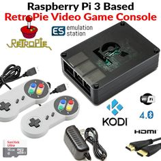 Amazon.com: Raspberry Pi 3 1GB RetroPie Emulation Station with Kodi Media Center Loaded 16GB Micro SD Card: Electronics