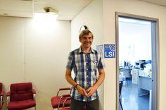 学校を案内して下さったデイビッドさんです。LSIの詳しい情報はこちらから! http://www.ilisny.com/lsi