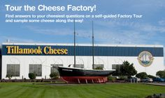 Tillamook Cheese Factory, one of Oregons most visited tourist attractions. Features observation deck of cheese making, dairy museum, retail gift store, deli and Tillamook Ice Cream shop. Also home to the morning star replica - a ship built in the 19th century.
