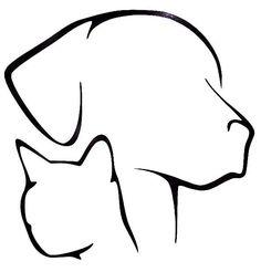 Dog Cat Lover Pet Silhouette Cool Car Truck Window Vinyl Decal Sticker 12 COLORS #VinylDecalSticker