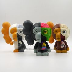 39.94$  Know more - http://aihj7.worlditems.win/all/product.php?id=32650180199 - Hot Sale 8 inch Original Fake Kaws Bape Dissected Milo medicom toy with retail box