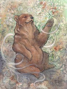 The Bear of Wisdom by ~Kitsune-Seven on deviantART