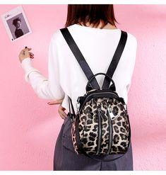 86812fd8e77d33 US $16.38 40% OFF|Aliexpress.com : Buy Leopard Print Small Backpacks For  Women Mini Backpack Kids Fashion Back Pack Travel Small Shell Bags Winter  2019 ...