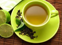 use green tea in three different stages
