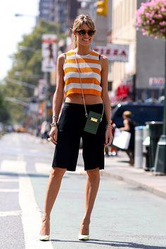 Street Style: Bermudas in New York