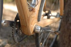 Fixed Gear Gallery :: Fixed Gear Submission - Alan Downey's own Wooden Bicycle