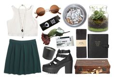 """""""no rest for the wicek"""" by jucia ❤ liked on Polyvore featuring Madewell, Nuit N°12, Topshop, A.P.C. and Smythson"""