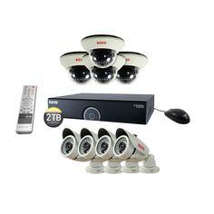Revo 16-Channel 2TB 960H DVR Surveillance System with (8) 1200 TVL 100 ft. Night Vision Cameras