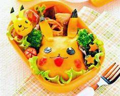 Pikachu Pikachu, Pokemon, Anime Bento, Japanese Lunch Box, Bento Box, Cute Food, Food Art, Sweet Treats, Mexican