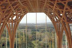 Nine Bridges Golf Club Shigeru Ban  #architecture #shigeruban Pinned by www.modlar.com