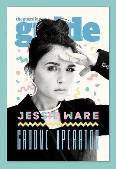 Jessie Ware on Guide Magazine