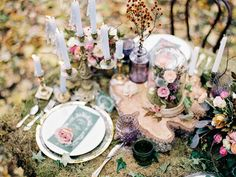Enchanted Forest Fairytale Wedding in Shades of Autumn   fabmood.com 1 - Fab Mood   Wedding Colours, Wedding Themes, Wedding colour palettes