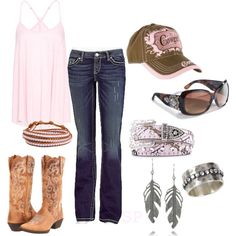 """""""Country time"""" by srose38 on Polyvore"""