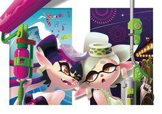 Splatoon in summer! by ta-ku-zou on DeviantArt Callie And Marie, Sonic The Hedgehog, Animation, Fan Art, Deviantart, Artist, Cute, Artwork, Summer
