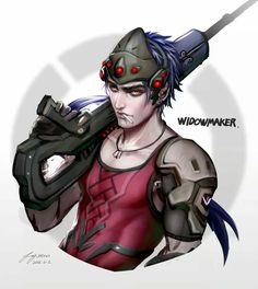 Widowmaker Genderbend